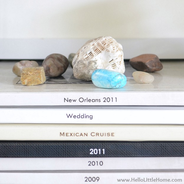 Peek into My Home: Rock Collection | Hello Little Home #InteriorDesign #decor