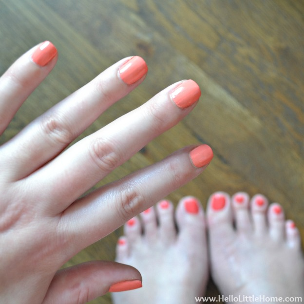 Summer Makeup Tip: Have Fun with Your Nails | Hello Little Home