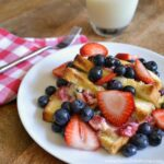 Berry Stuffed Baked French Toast Recipe | Hello Little Home