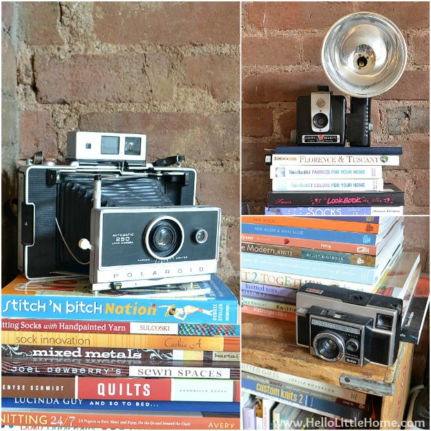 The Collections We Keep: Cameras | Hello Little Home #InteriorDesign #Decor