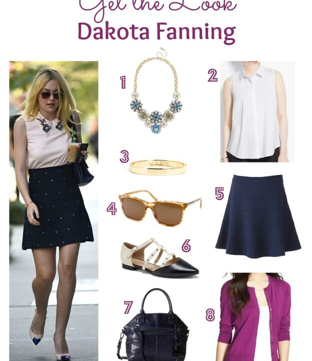 Get the Look: Dakota Fanning | Hello Little Home #style #fashion