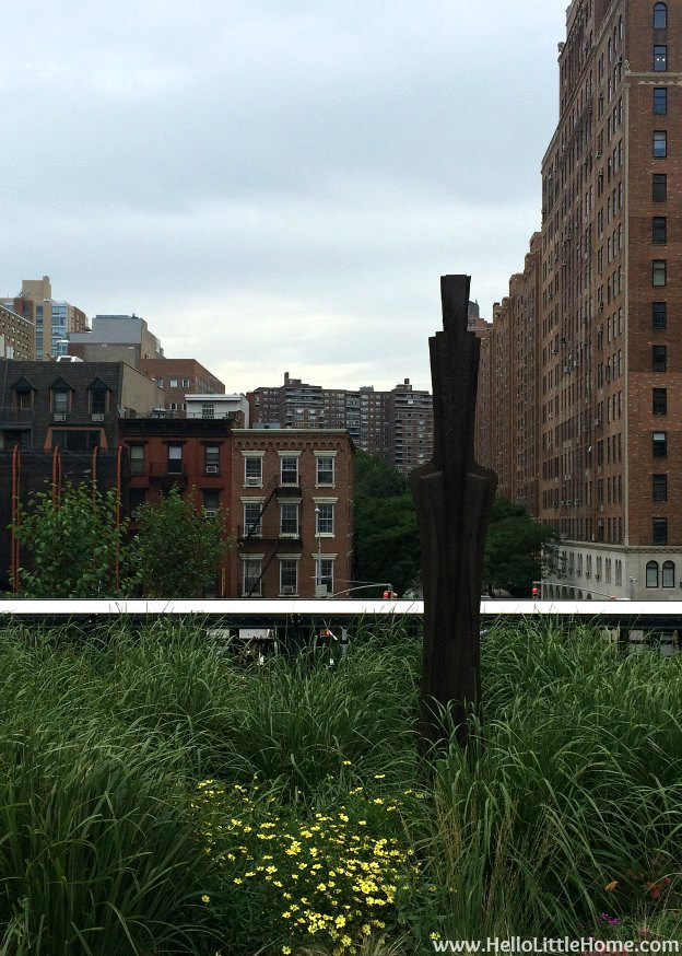 Explore NYC with Me: The High Line - Marianne Vitale (Archeo: Creative Crossings) | Hello Little Home