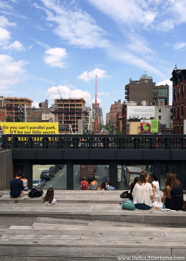 Explore NYC with Me: The High Line - Sit and Watch the Traffic | Hello Little Home