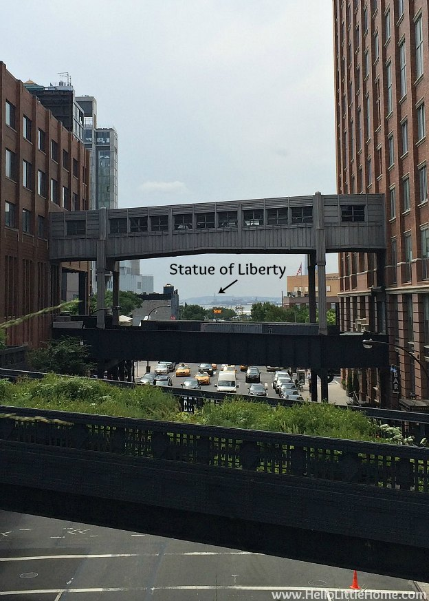 Explore NYC with Me: The High Line - Statue of Liberty View | Hello Little Home