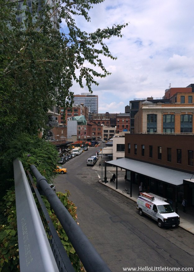 Explore NYC with Me: The High Line - Meatpacking District View | Hello Little Home