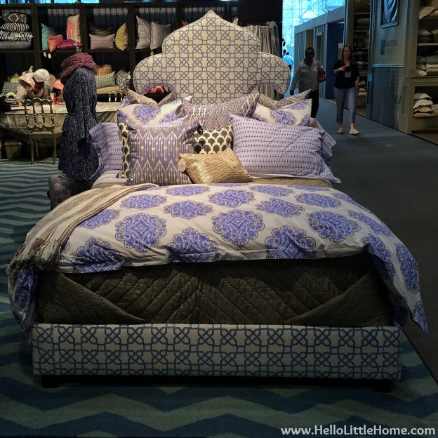 John Robshaw Bed | Hello Little Home #NYNow