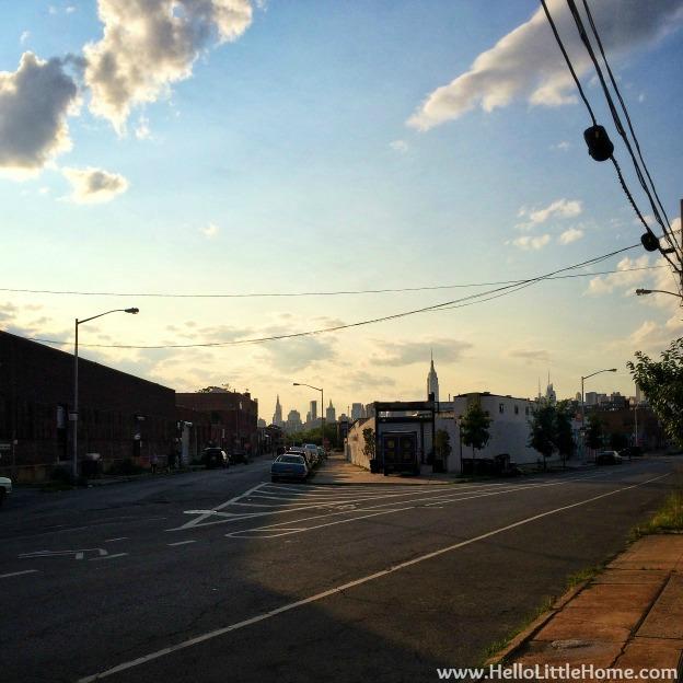 Manhattan View from Brooklyn   Hello Little Home