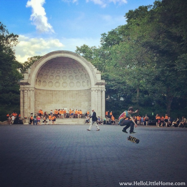 Naumburg Bandshell in Central Park | Hello Little Home