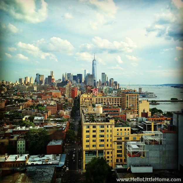 New York View from the Standard High LIne | Hello Little Home