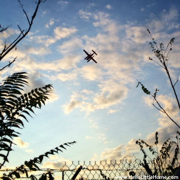 A Plane Over Brooklyn | Hello Little Home