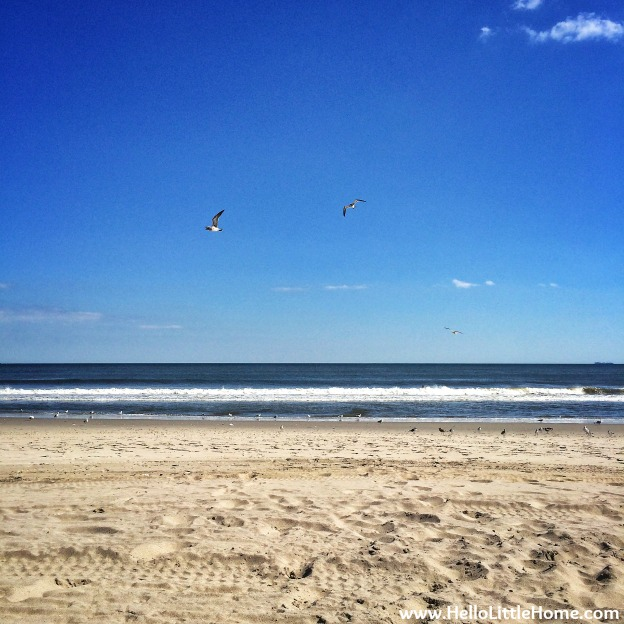 One Last Beach Day: Rockaway Beach | Hello Little Home
