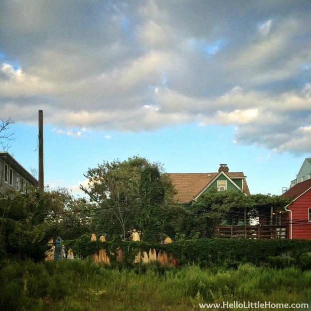 Rockaways Surfboard Fence | Hello Little Home