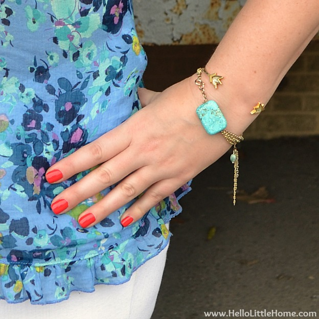 Summer Accessories Style | Hello Little Home #fashion #jewelry