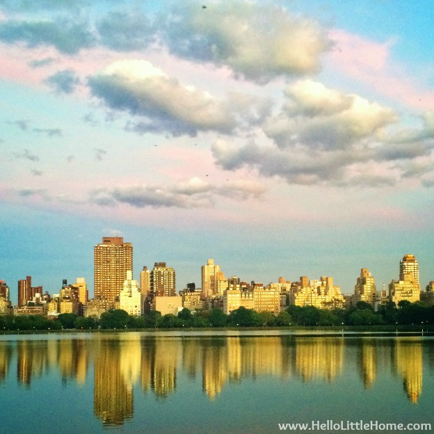 Hello, Friday Link Roundup + Jackie Kennedy Onassis Reservoir Sunset | Hello Little Home #CentralPark