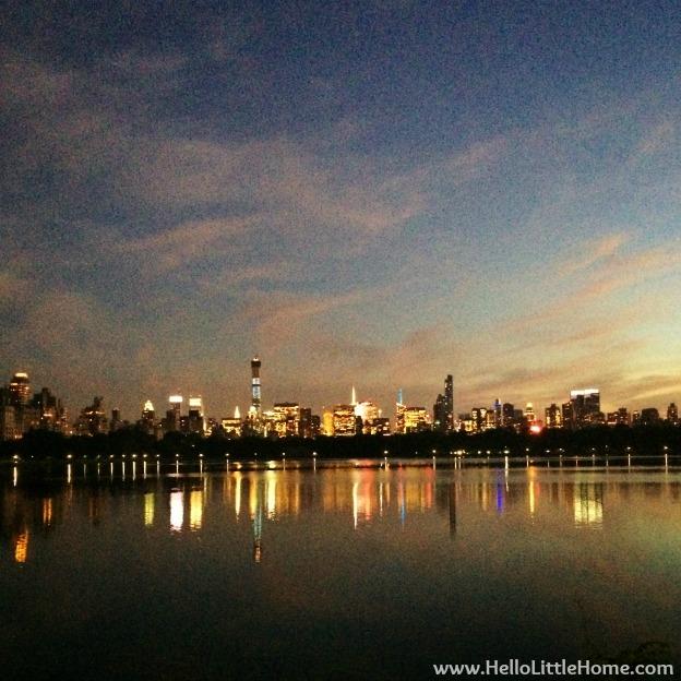 Hello, Friday Link Roundup + Jackie Kennedy Onassis Reservoir Sunset   Hello Little Home #CentralPark