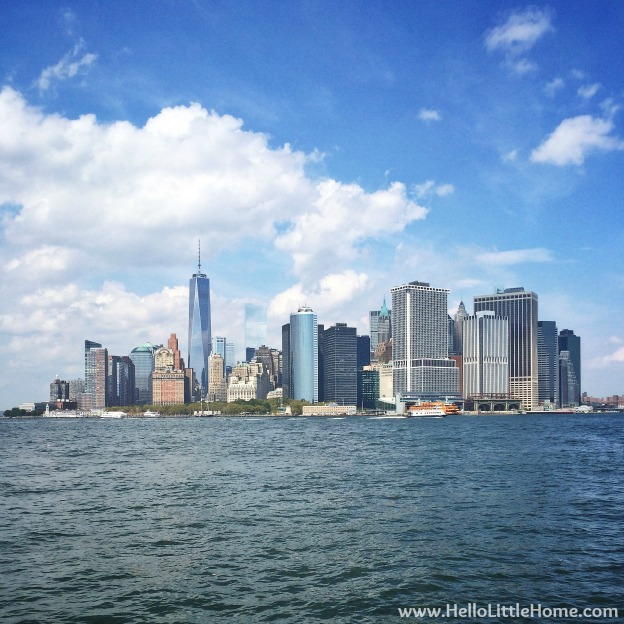 Lower Manhattan Skyline | Hello Little Home