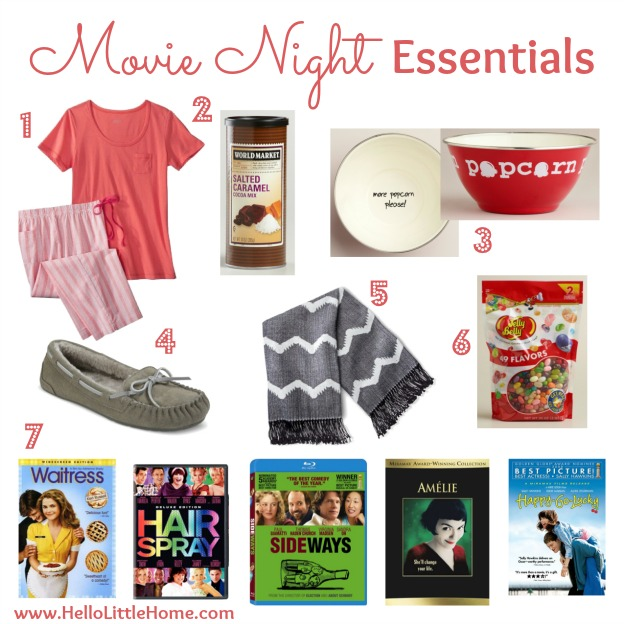 Movie Night Essentials | Hello Little Home