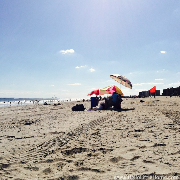 Explore NYC with Me: Rockaway Beach | Hello Little Home