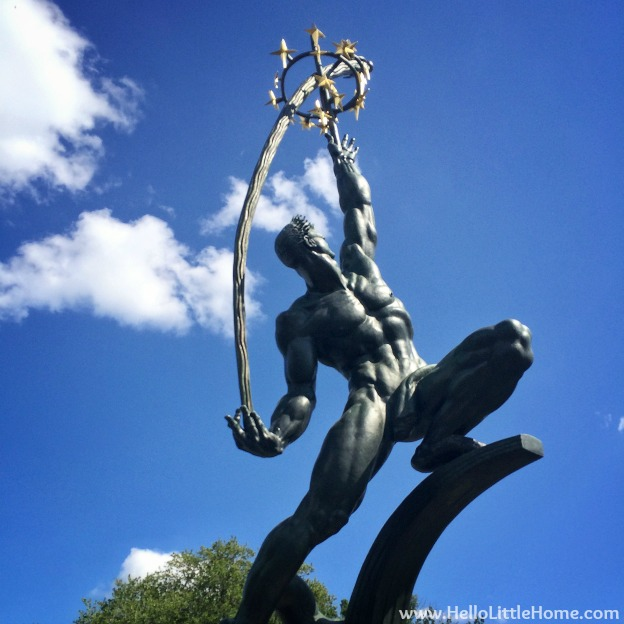 The Rocket Thrower - Flushing Meadows Corona Park | Hello Little Home