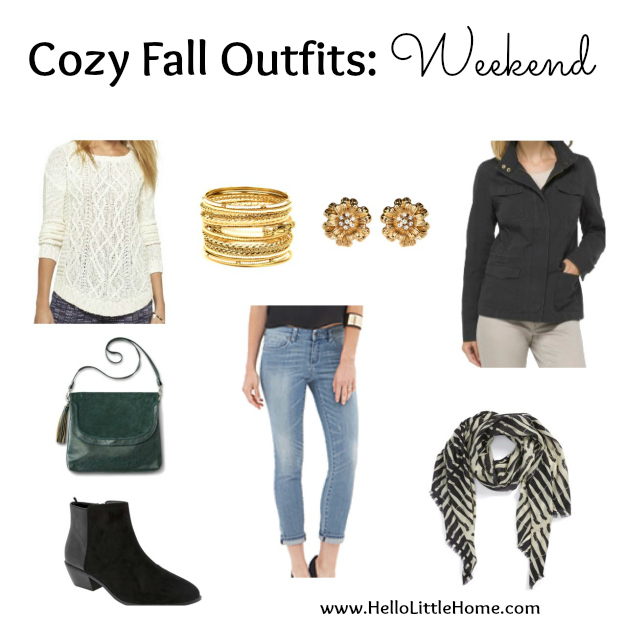 3 Cozy Fall Outfits: Weekend | Hello Little Home #style #fashion #FallFashion #WeekendStyle