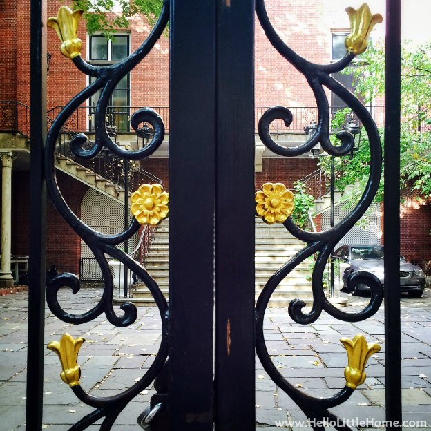 Upper East Side Gate | Hello Little Home