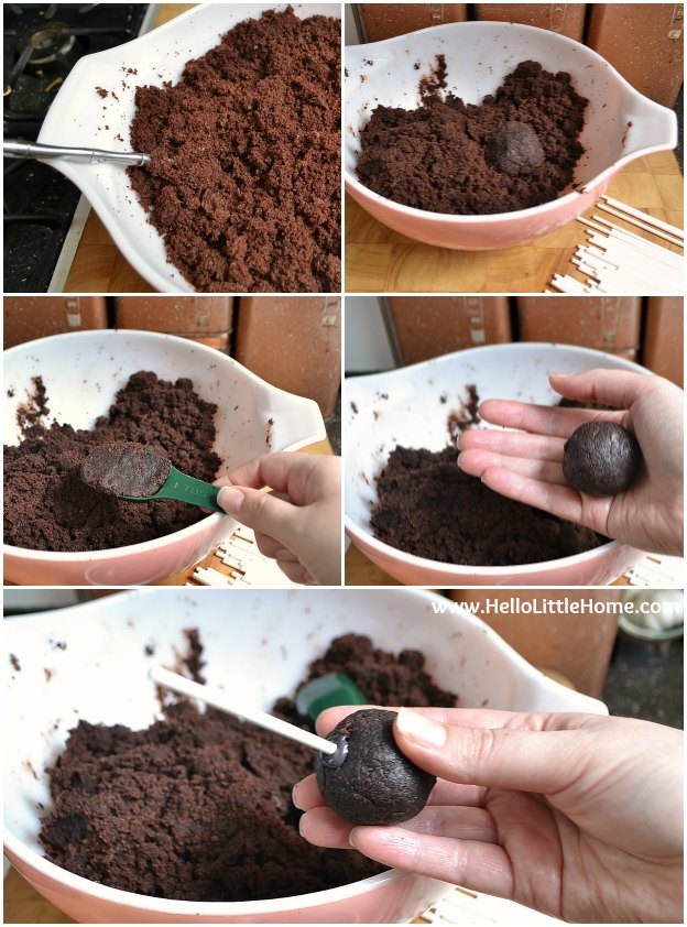 Easy cake pop tutorial hello little home for Easy halloween cakes to make at home