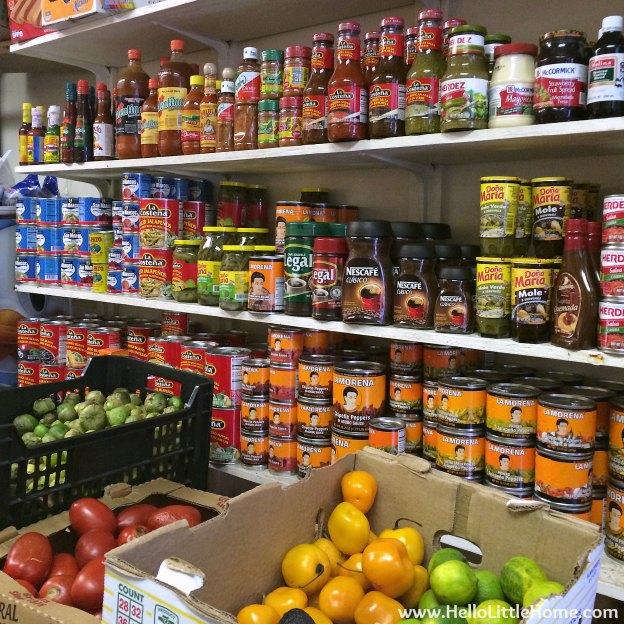 La Morena In-Store   Hello Little Home #MexicanFood #VivaLaMorena #CollectiveBias #shop