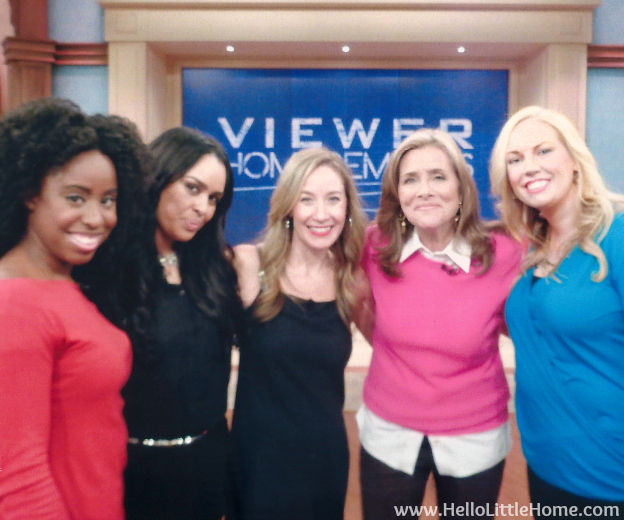 Meredith Vieira Show Appearance | Hello Little Home