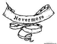 """The Raven"" Nevermore Printable"