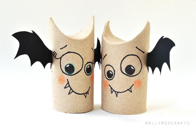 Toilet Paper Roll Bat Buddies