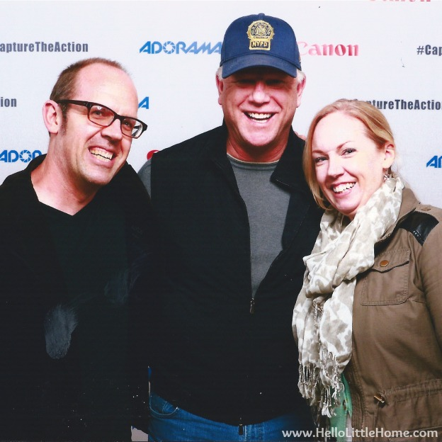 Boomer Esiason at Canon Adoram Event | Hello Little Home