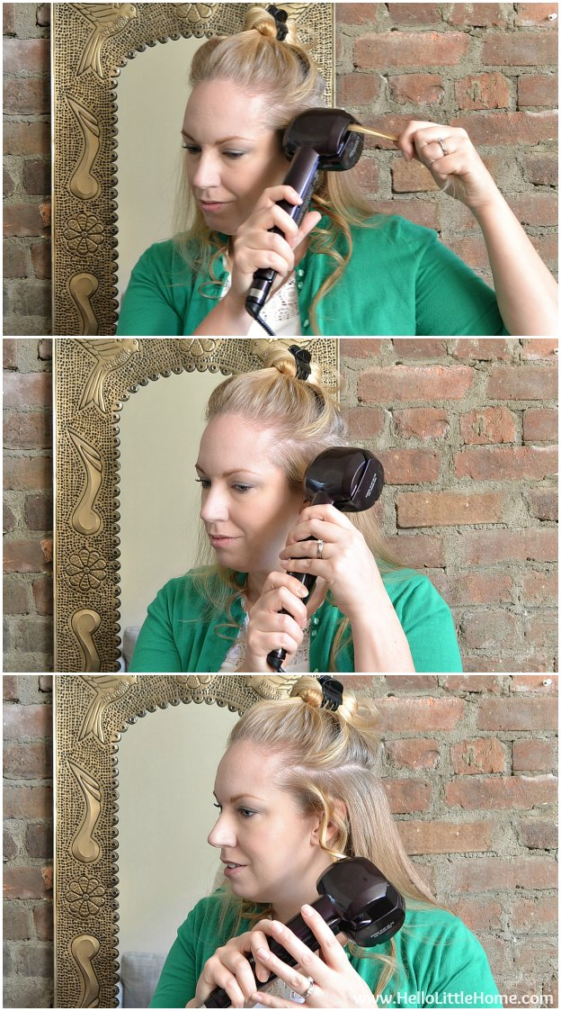 3 Easy Hair Styles for the Holidays: Big Waves | Hello Little Home #HeartMyHair #Conair #Tutorial