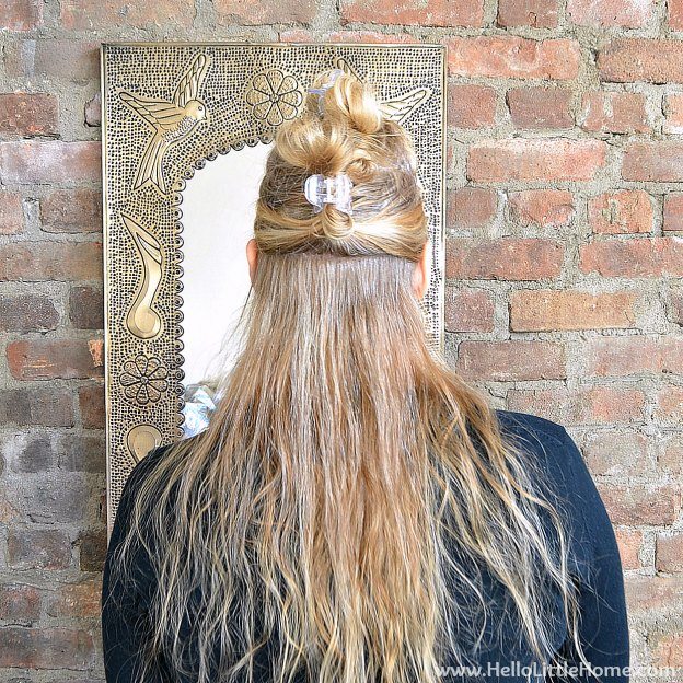 3 Easy Hair Styles for the Holidays: Blow Out | Hello Little Home #HeartMyHair #Conair #Tutorial