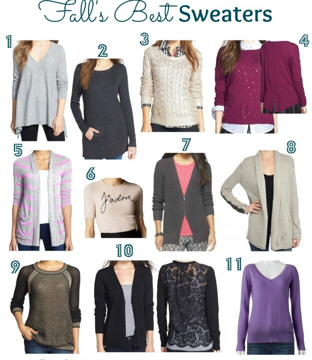 Fall's Best Sweaters | Hello Little Home #style #fashion #FallStyle