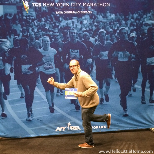 Joel - NYC Marathon Expo | Hello Little Home