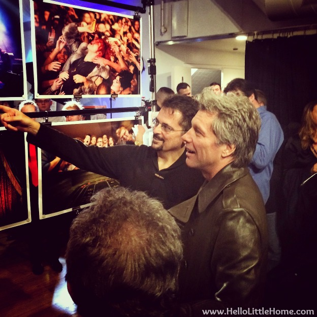 Jon Bon Jovi at Canon Adorama Event | Hello Little Home