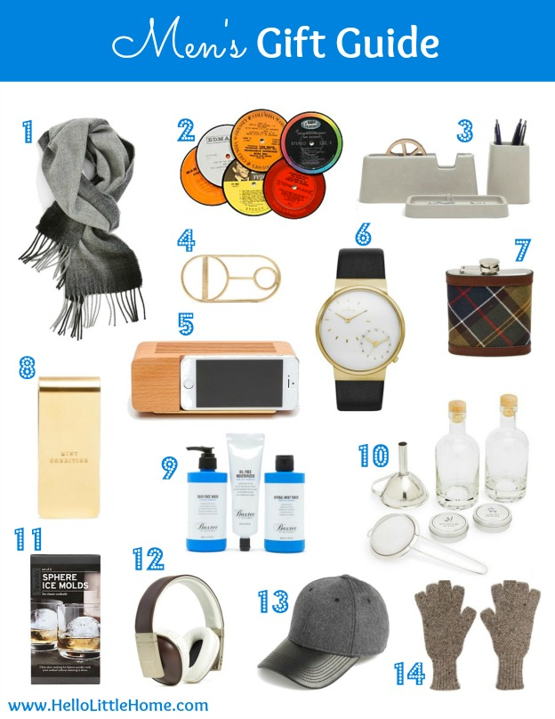 Men's Gift Guide | Hello Little Home #Holiday #Christmas #shopping