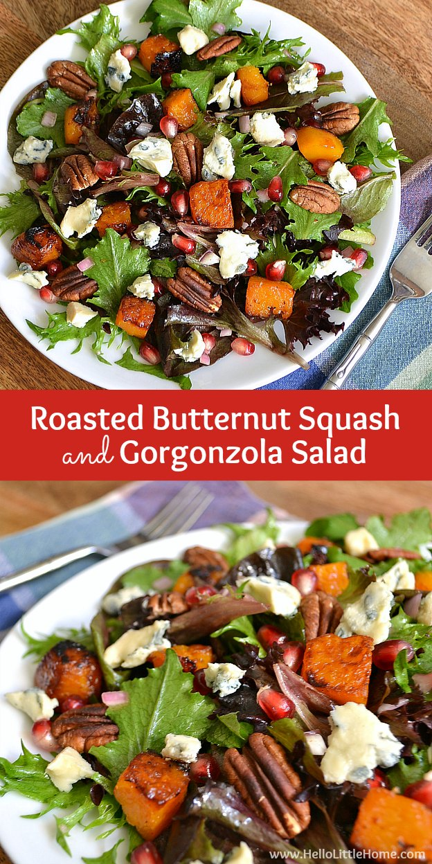 "40 thoughts on "" Roasted Butternut Squash and Gorgonzola Salad """