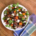 Roasted Butternut Squash and Gorgonzola Salad