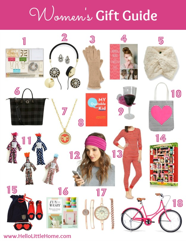 Women's Gift Guide | Hello Little Home #Holidays #Christmas #shopping