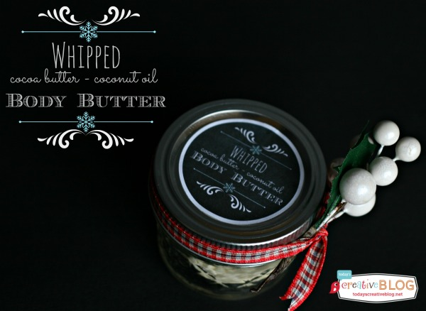 DIY Gift Ideas for Everyone: Whipped Body Butter | Hello Little Home #crafts #holidays #Christmas