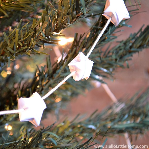 Origami Lucky Star Garland
