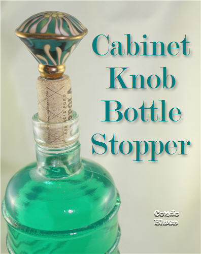 DIY Gift Ideas for Everyone: Cabinet Knob Bottle Stopper | Hello Little Home #crafts #holidays #Christmas