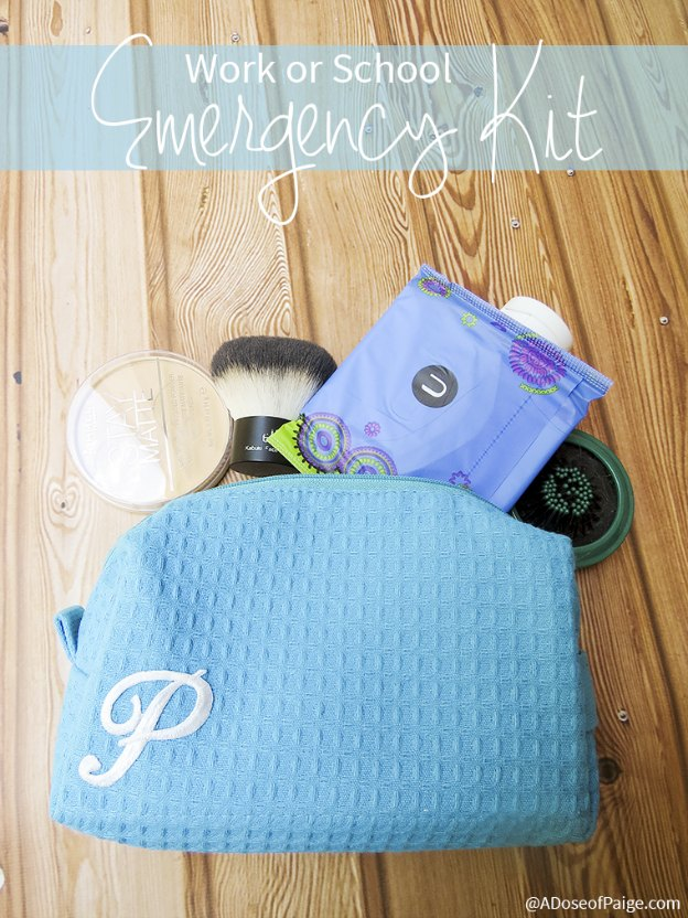 DIY Gift Ideas for Everyone: Work or School Emergency Kit | Hello Little Home #crafts #holidays #Christmas