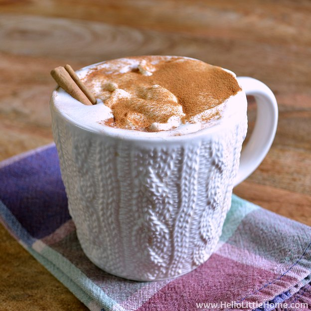 Mexican Hot Chocolate | Hello Little Home #drinks #hotdrinks #hotcocoa