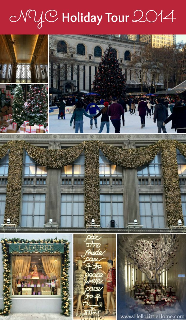 New York Holiday Tour | Hello Little Home #Christmas #NYC #5thAvenue #MadisonAvenue