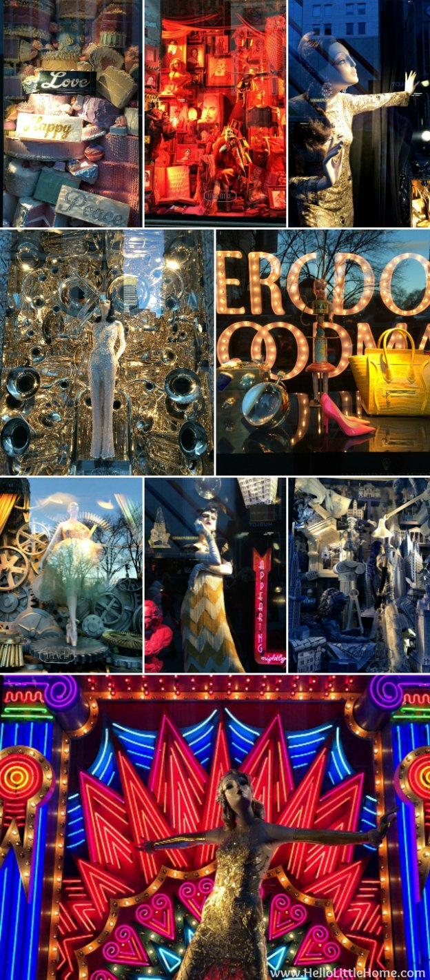 New York Holiday Tour: Bergdorf Goodman | Hello Little Home #Christmas #NYC #5thAvenue #MadisonAvenue