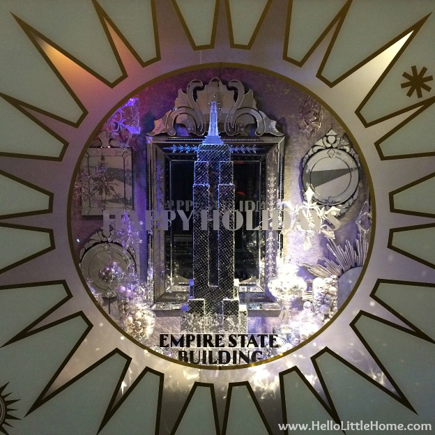 New York Holiday Tour: Empire State Building | Hello Little Home #Christmas #NYC #5thAvenue #MadisonAvenue