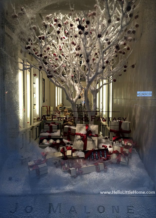 New York Holiday Tour: Jo Malone | Hello Little Home #Christmas #NYC #5thAvenue #MadisonAvenue
