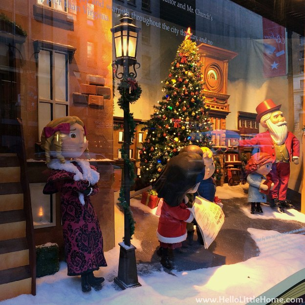 New York Holiday Tour: Macy's Herald Square | Hello Little Home #Christmas #NYC #5thAvenue #MadisonAvenue